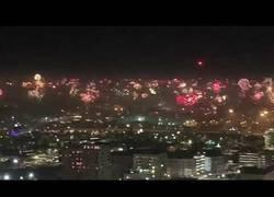 Enlace a Celebrando año nuevo en San Antonio