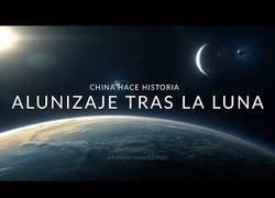 Enlace a China aterriza en el lado oscuro de la luna