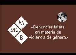 Enlace a Ponencia sobre las denuncias falsas en la violencia de género