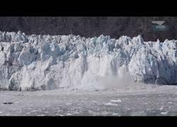 Enlace a Desprendimientos de hielo captados por la c´mara