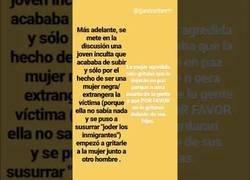 Enlace a Agresión racista en el País Vasco