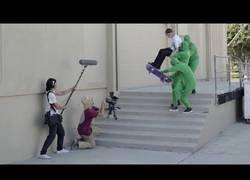Enlace a Grabando videos de skate