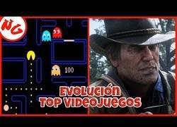 Enlace a Evolución de los videojuegos desde 1980 a 2019
