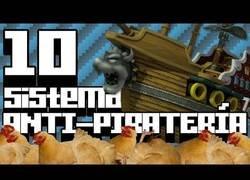 Enlace a Sistemas curiosos anti-piratería