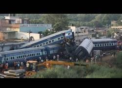 Enlace a Peores accidentes de tren