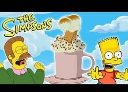 Enlace a Cocinando un chocolate caliente de Ned Flanders