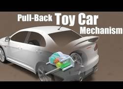 Enlace a Así funcionan los coches de juguete para que arranquen al hacerlos tirar hacia atrás