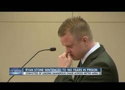 Enlace a Se llama Ryan Stone y ha sido condenado a 160 años de cárcel por este incidente al más puro estilo GTA