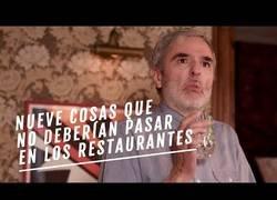 Enlace a Nueve cosas que no deberían pasar en los restaurantes