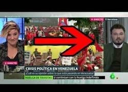 Enlace a El enorme ZAS de Cristina Pardo a Gabriel Rufián del que no se recuperará en una temporada