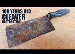 Enlace a Restaurando un viejo utensilio para dejarlo como nuevo