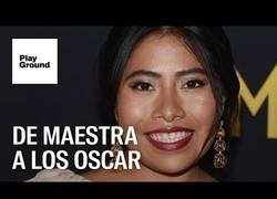Enlace a Yalitza Aparicio, la primera actriz indígena en optar a un premio Oscar