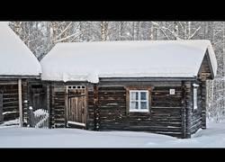 Enlace a Así está en la actualidad una cabaña tradicional construida en 1988