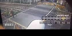 Enlace a Esta anciana se salva por pocos centímetros de ser arrollada por un tren