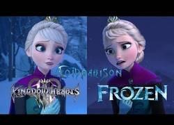 Enlace a Square Enix ha creado desde cero toda la escena de Frozen para Kingdom Hearts III