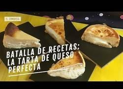 Enlace a Comparando tres famosas tartas de queso