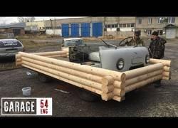 Enlace a Convirtiendo una furgoneta UAZ en una casa