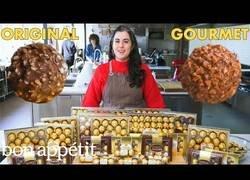 Enlace a Cocinando unos Ferrero Rocher de alta cocina
