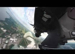 Enlace a La cámara estabilizadora que usa este caza F-16