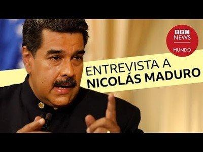 Entrevista a Maduro en la BBC