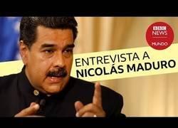 Enlace a Entrevista a Maduro en la BBC