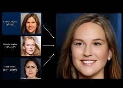 Enlace a Caras de personas creadas por una Inteligencia Artificial