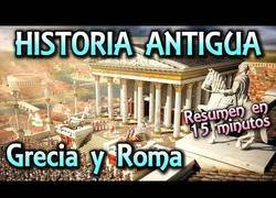 Enlace a Resumen de la historia de Grecia y Roma