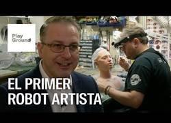 Enlace a ¿Pueden los robots ser artistas?