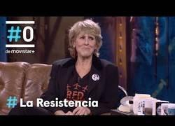 Enlace a Mercedes Milá acude a La Resistencia a ser entrevistada por David Broncano