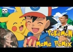 Enlace a El tema de Pokémon versionado con los vídeos más memeados de internet