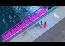 Enlace a Graban el momento en el que una pareja pierde un crucero al llegar tarde al embarque