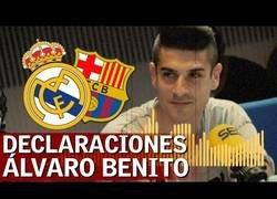 Enlace a El Real Madrid despide al ex jugador Alvaro Benito de su puesto como entrador en el Juvenil tras estas declaraciones