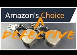 Enlace a El peor candado que puedes comprar en Amazon