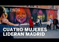 Enlace a Cuatro mujeres protagonistas de un gran mural