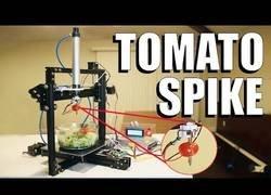 Enlace a Inventa una máquina capaz de sacar los tomates de tu ensalada