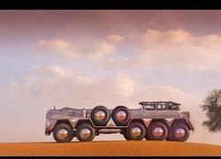 Enlace a Se llama Dhabiyan y es el vehículo de lujo que se lleva entre los jeques