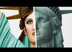 Enlace a Así se vería en la realidad la Estatua de la Libertad