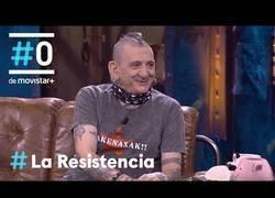 Enlace a La genial entrevista a Evaristo Páramos en La Resistencia