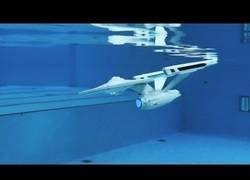 Enlace a El submarino teledirigido del USS Enterprise