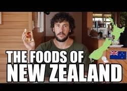 Enlace a Las comidas de Nueva Zelanda