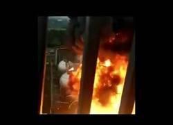 Enlace a La brutal explosión en esta planta química en Jiangsu (China)