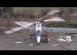 Enlace a El despegue de este helicóptero Kaman K-Max bi-rotor