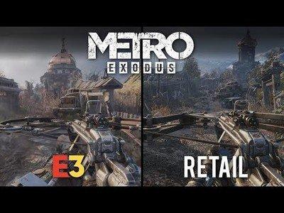 Inédito: El videojuego Metro Exodus recibió un upgrade en su versión final comparada con la del E3