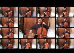 Enlace a Logra sincronizar 13 cellos a la vez para tocar la banda sonora de El Señor de los Anillos tras 100 horas de trabajo