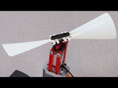 Montando un mecanismo de LEGO capaz de volar