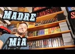 Enlace a La mayor colección de Super Nintendo en España