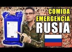 Enlace a Probando la comida de emergencia rusa para 24h