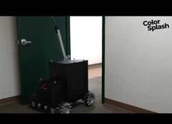 Enlace a Inventan un robot con inteligencia artificial capaz de pintar una habitación
