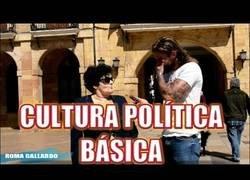 Enlace a Poniendo a prueba el nivel de cultura política básica