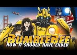 Enlace a Así debería haber terminado la historia de Bumbleblee